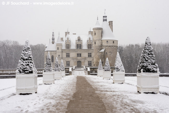 ChenonceauNeige-7