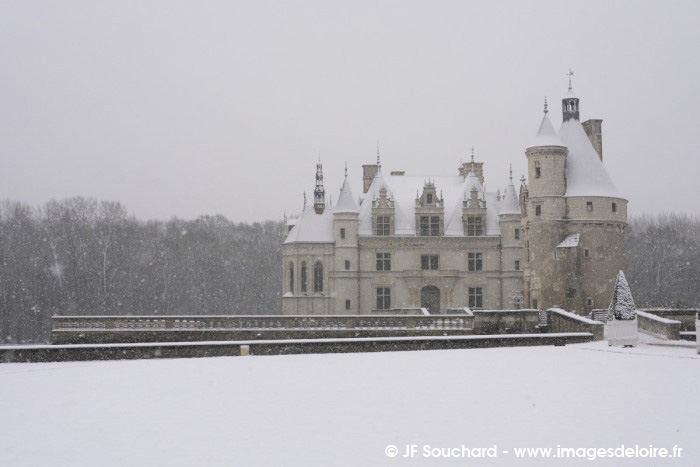 ChenonceauNeige-8
