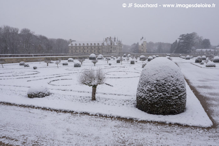 ChenonceauNeige-14